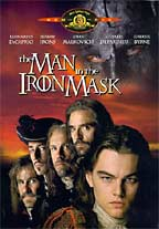 The Man in the Iron Mask, DVD video cover