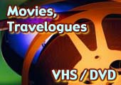 Movies, Travelogues - VHS/DVD