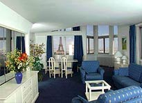 View of Flatotel Eiffel Tower suite