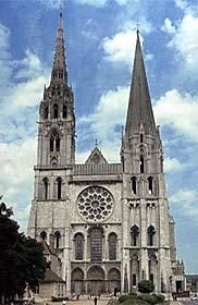 Notre Dame de Chartres, west facade