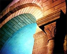 Arch in Sainte-Trinite, Germigny