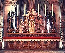 Altar in Notre-Dame, Paris