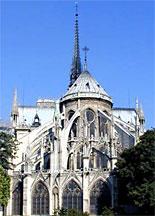 Apse of Notre-Dame, Paris