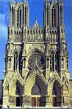 Notre Dame de Reims, west facade