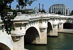 Pont-Neuf, view of Samaritaine