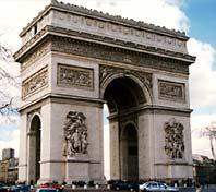 Modern-day Arc de Triomphe