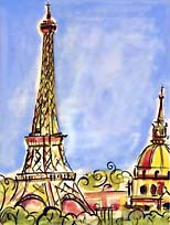Eiffel Tower (print)
