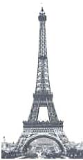 Eiffel Tower completed, May 1889