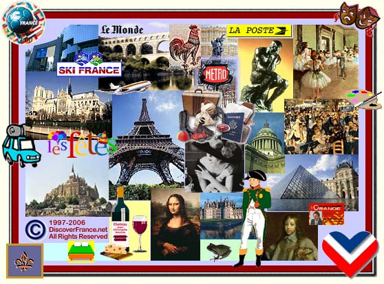 DiscoverFrance.net Splash Page