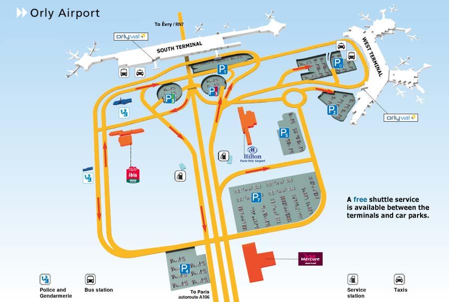 Traslado Desde Hasta Aeropuerto De Orly Historico I