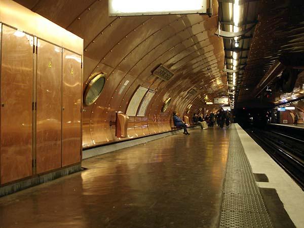 The Paris Metro Subway System Part 1