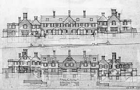 Houses for George Woodward, 1915.