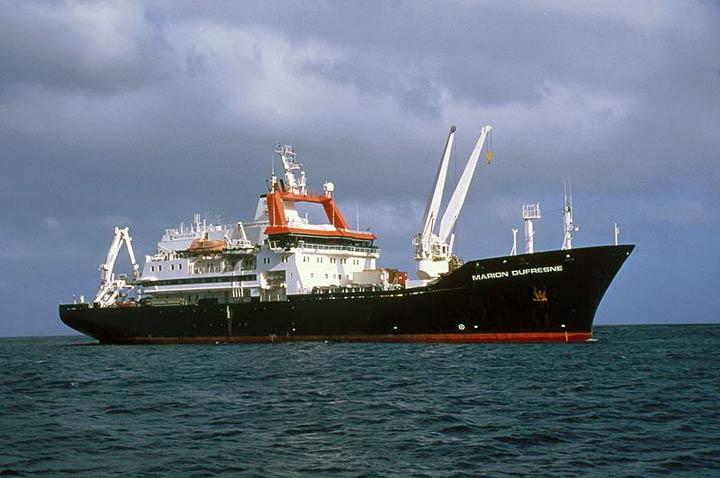Risultati immagini per MARION DUFRESNE SHIP