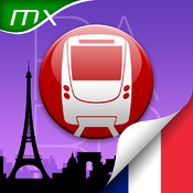 Paris Metro Map and Route Planner app