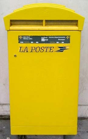 Postal Services in France - French Mail System
